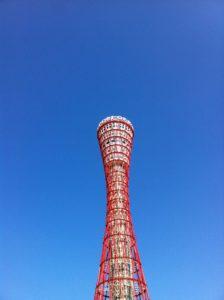 人の作るタワーの赤